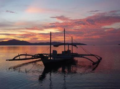 Port Barton, Ile de Palawan, Philippines