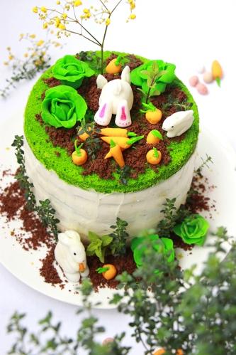 Rainbow cake Paque - devorezmoi 02